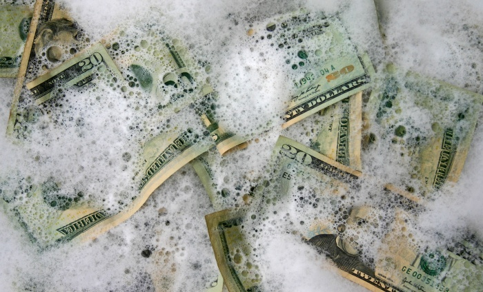 Washing money